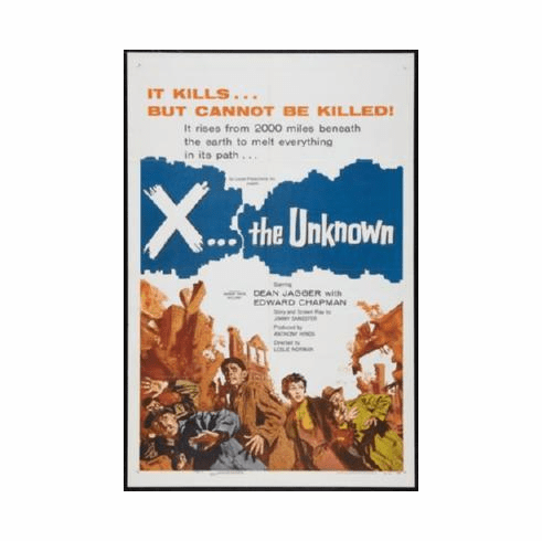 X The Unknown Mini Poster #01 11inx17in Mini Poster