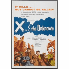 X The Unknown Poster 24inx36in