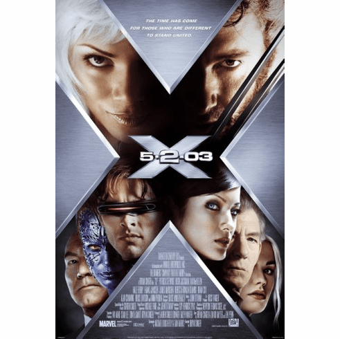 X2 Movie Poster 24inx36in Poster