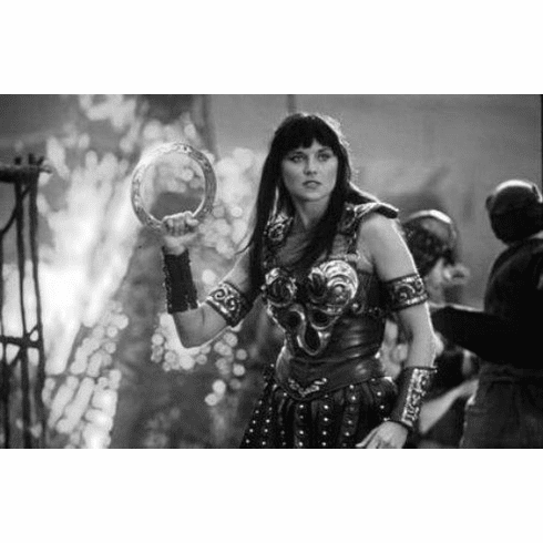 "Xena Black and White Poster 24""x36"""