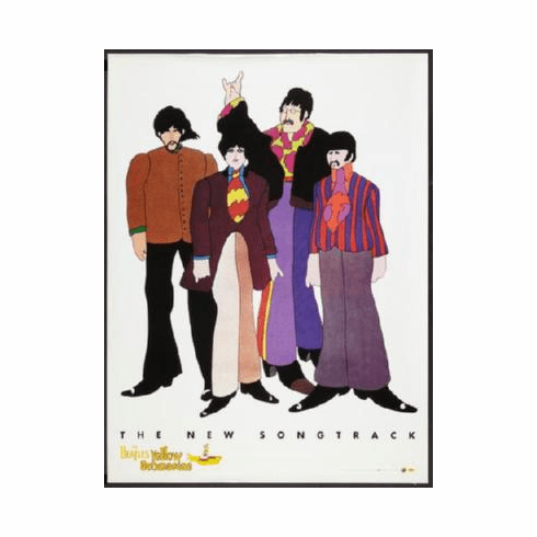 Yellow Submarine Poster 24inx36in