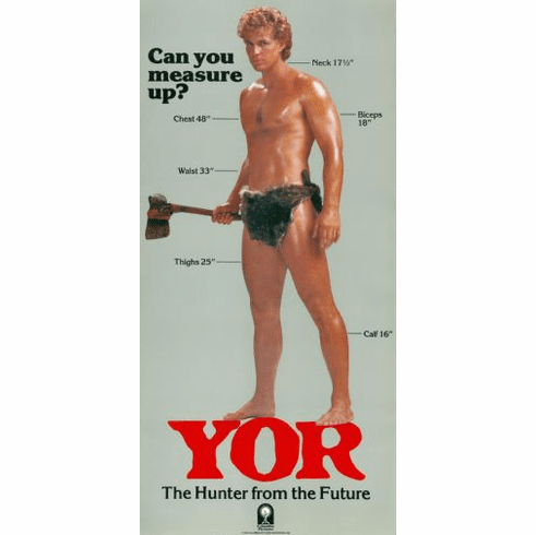 Yor Movie Poster 24in x36in