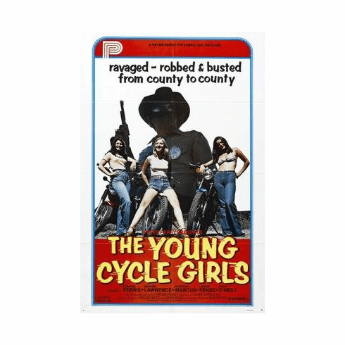 Young Cycle Girls The Movie Poster 11x17 Mini Poster