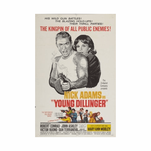 Young Dillinger Movie mini poster 11x17 #01