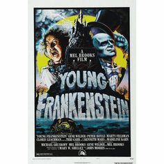 Young Frankenstein Movie Poster 24in x36 in