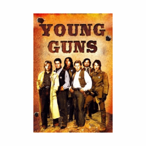 Young Guns Mini Movie Poster 11inx17in