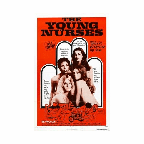 Young Nurses The Movie Poster 11x17 Mini Poster