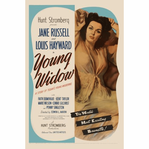 Young Widow Movie poster 24inx36in Poster