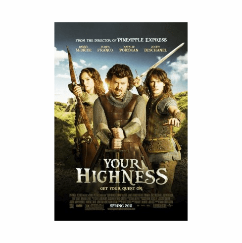 Your Highness Movie Poster 24x36