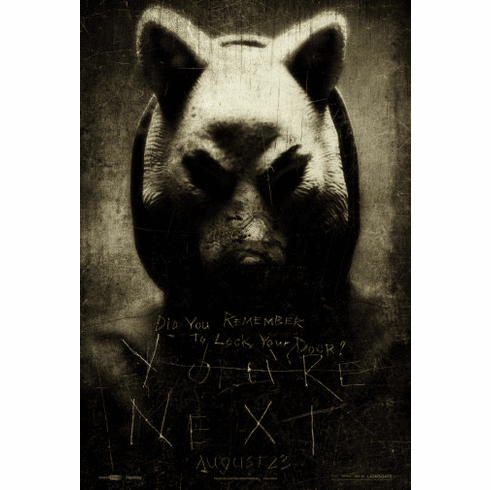Youre Next Movie Poster 24inx36in Poster
