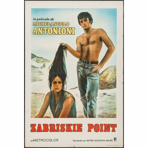 Zabriskie Point Movie Poster 24in x36in