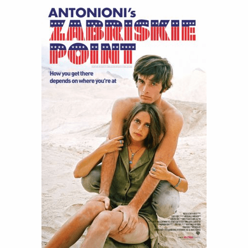Zabriskie Point Movie poster 24inx36in Poster