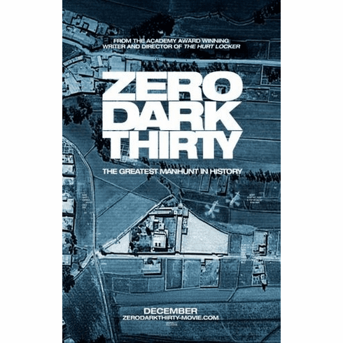 zero dark thirty Mini Poster 11inx17in poster