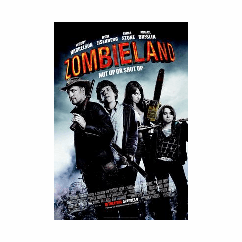 Zombieland Movie Poster 24inx36in