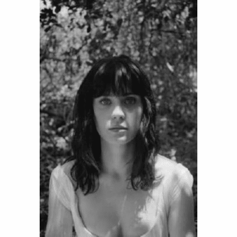 """Zooey Deschanel Black and White Poster 24""""x36"""""""