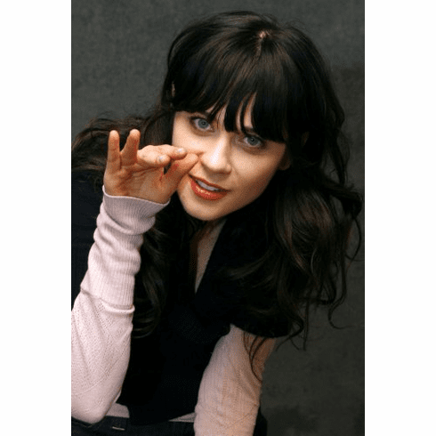 Zooey Deschanel Poster 24inx36in
