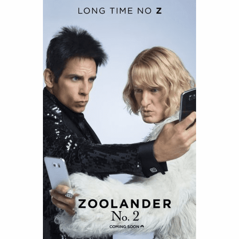 Zoolander 2 Movie Poster 24in x36in