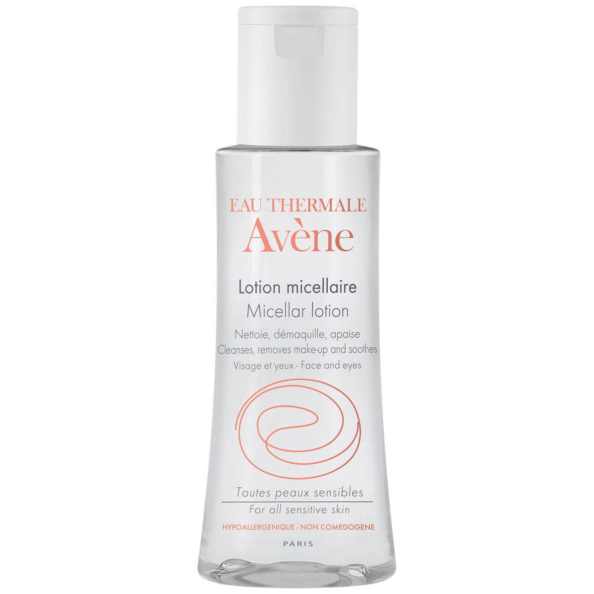 Avene Micellar Lotion Cleanser & Make-up Remover 3.3 Fl Oz