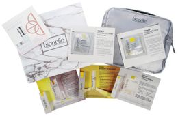 GWP: Free Biopelle Travel Bag packed with a complete regimen of samples