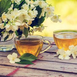 Skin Therapy With Green Tea Polyphenols