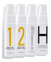 Tuel Moisture Travel Pack Mini Set 4 x 1.0 fl oz.