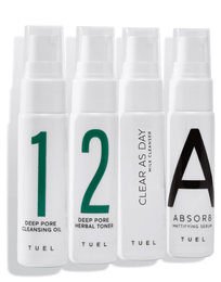 Tuel Detox Travel Pack Mini With Milk Cleanser 4 x 1.0 fl oz.