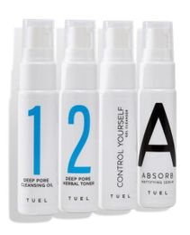 Tuel Control Travel Pack Mini Set 4 x 1.0 fl oz.