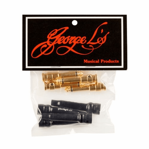 Straight Gold Plug 4 pc