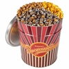 Gourmet Popcorn Party Tin: Caramel  Popcornopolis 3.5 Gallon