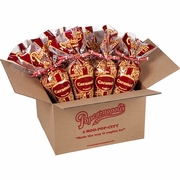 Popcornopolis Caramel Cones 10 oz  12 pack Free Shipping