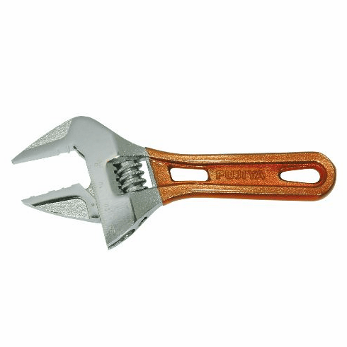 Fujiya Short Adjustable Wrench, FLS-32G