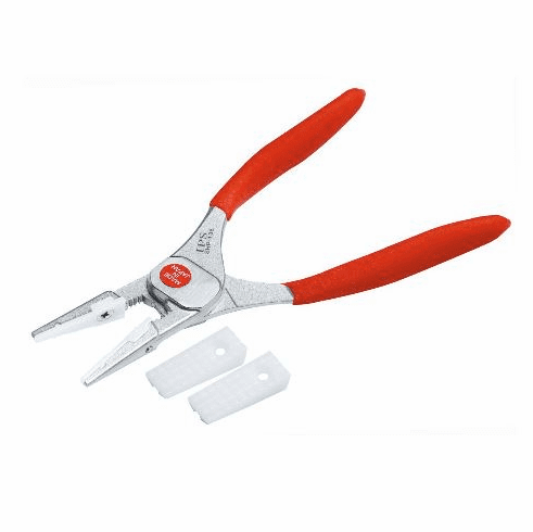 IPS Soft Grip Pliers, Flat Jaws, SHP-135B (New Item)