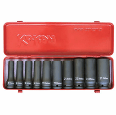 Koken 1/2dr. Deep Impact Socket Set, 14207M-6P
