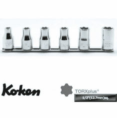 Koken 1/2dr. Torx Plus Socket Set, RS4425/6-EPL