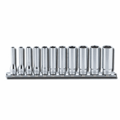 Koken 1/4dr 11pc. Deep Socket Set. 12pt. RS2305M/11
