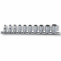 Koken 1/4dr. 12pt. Aerospace Standard Socket Set, # RSAS2405A/10