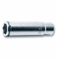 Koken 1/4dr. Deeo Nutgrip Socket, 8mm, 2350M-8