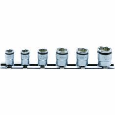 Koken 1/4dr. Nut Grip Socket Set. 6pt.,RS2450MS/6