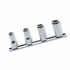 Koken 1/4dr. Semi Deep Nutgrip Socket Set, RS2350X/4
