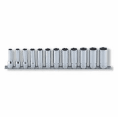 Koken 3/8dr. 6pt. Deep Socket Set, RS3300M/12
