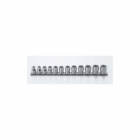Koken 3/8dr. 6pt Socket Set RS3400M/12