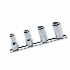 Koken 3/8dr. Semi Deep Nutgrip Socket Set, RS3350X/4