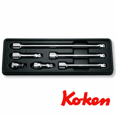 Koken 3/8dr Wobble Extension Set, # PK3763/6