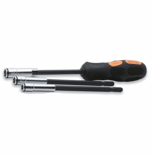 Koken 3pc Nut Grip Driver Set, # 167C\3-2B