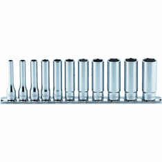 Koken RS2300M/11 6 Point Deep Metric Socket Set