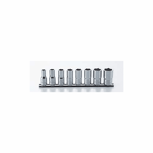 Koken Semi Deep 3/8dr. 6pt. Socket Set # RS3300X/8