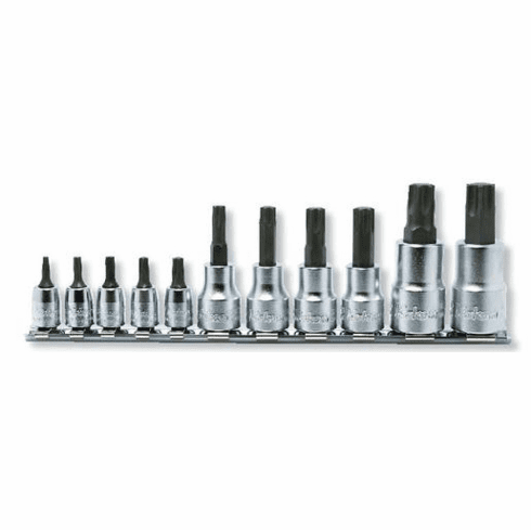 Koken Torq Plus 11pc. Bit Set, RSX025/11-IP