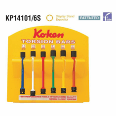 Koken Torsion Bar Set,  KP14101/6S