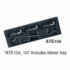 KTC  Free Position Wrench Set, Model ATE 104