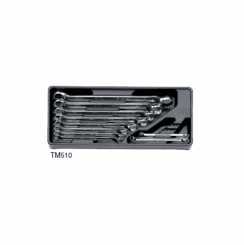 KTC Offset  Box End Wrench Set, 10pc. Model TM510